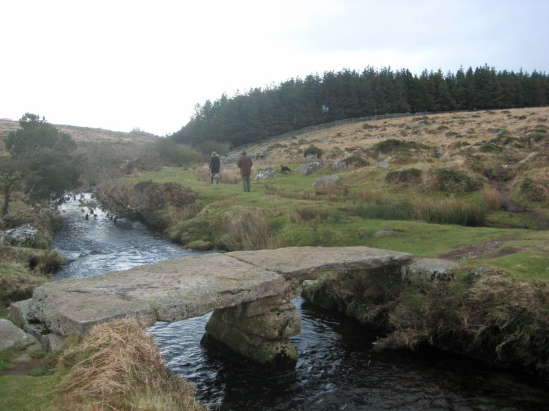 Clapper Bridge over the Wallabrook
