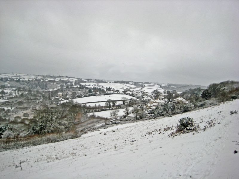 The-vilage-in-the-snow