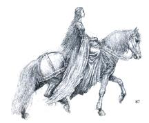 Alan Lee maiden sketch