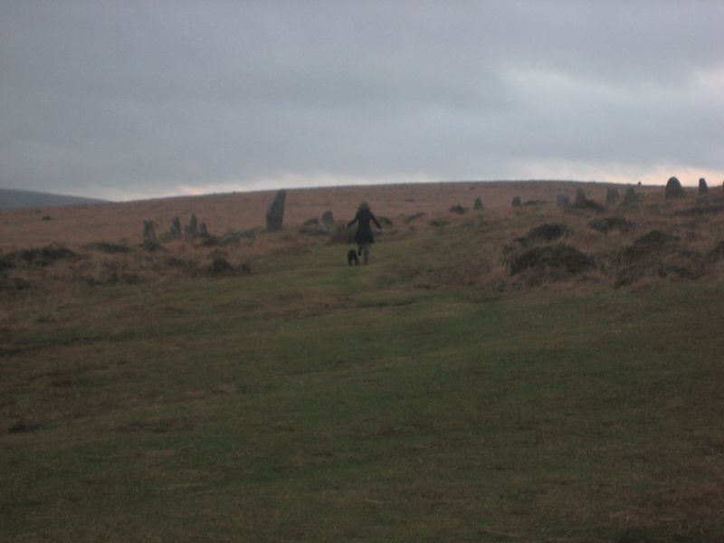 Ghosts in a Stone Circle