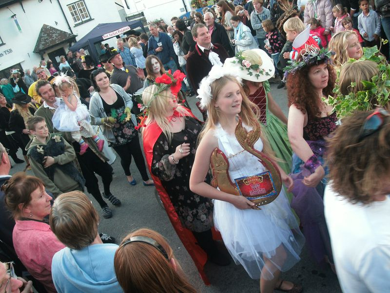Carnival crowd