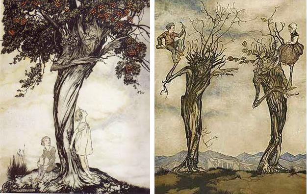 Trees by Arthur Rackham