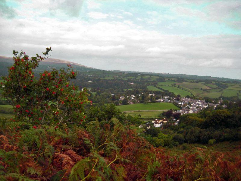 The village in autumn