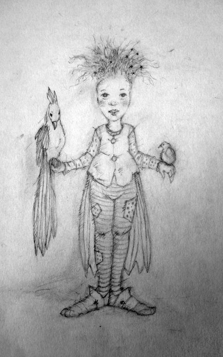 Bird Girl by T Windling