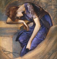 Sketch by Edward Burne-Jones