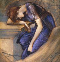 Sketch by Edward Burne-Jones