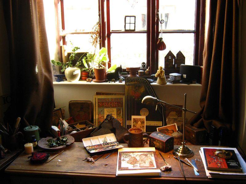 Rima's desk 3