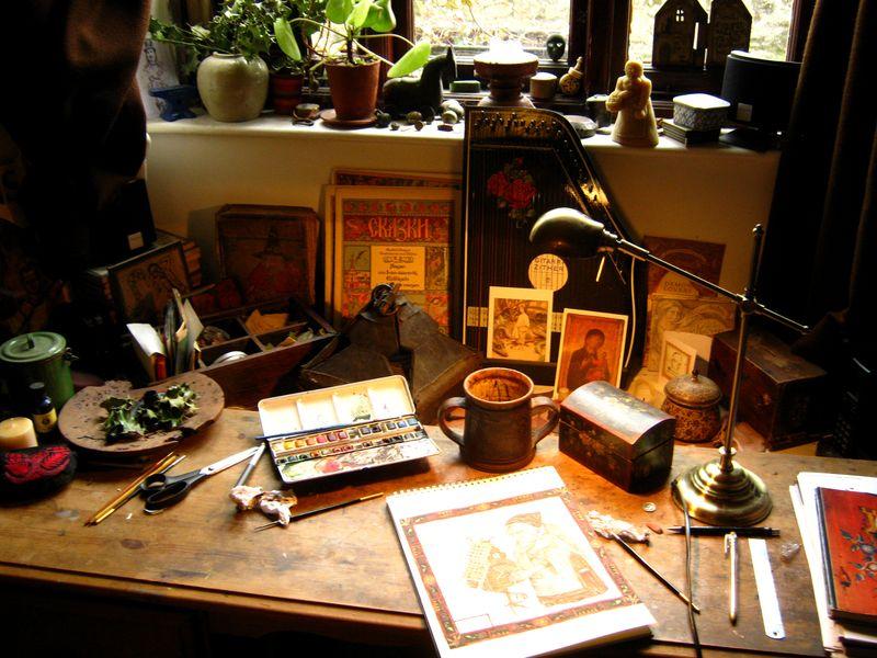 Rima's desk 4