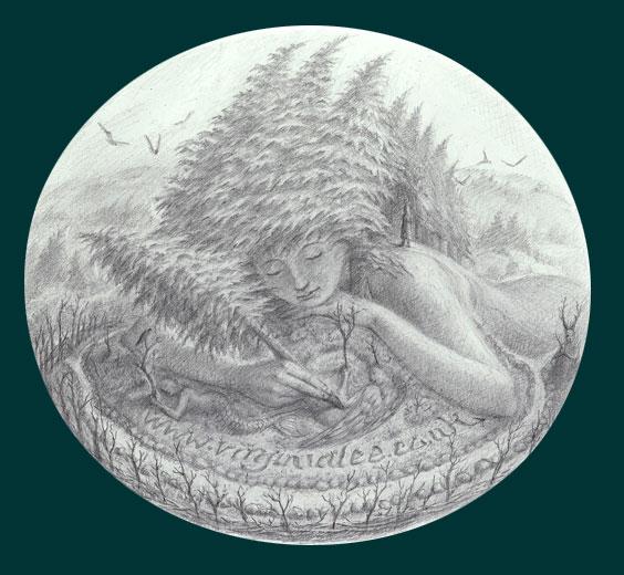 Tree Girl by Virginia Lee