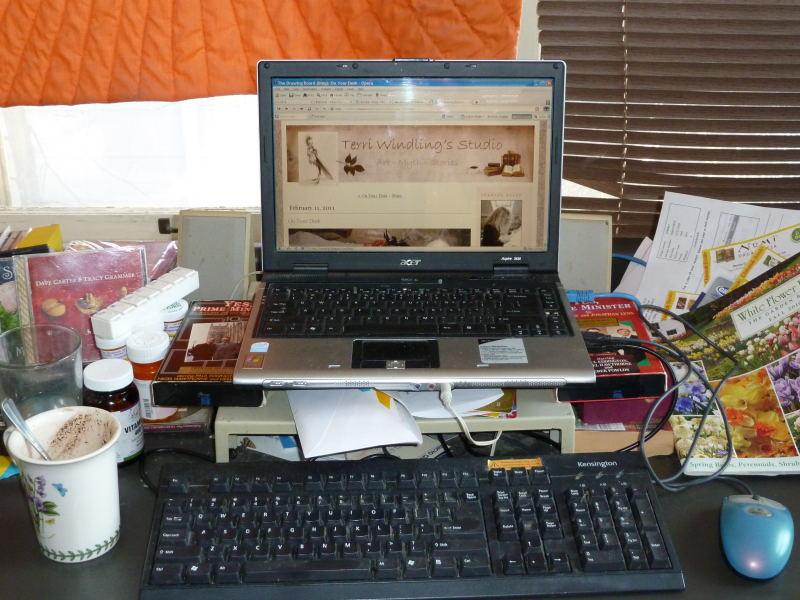 Pamela's desk 3