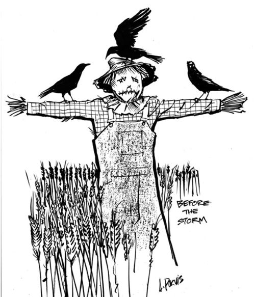 Scarecrow by Leland Purvis