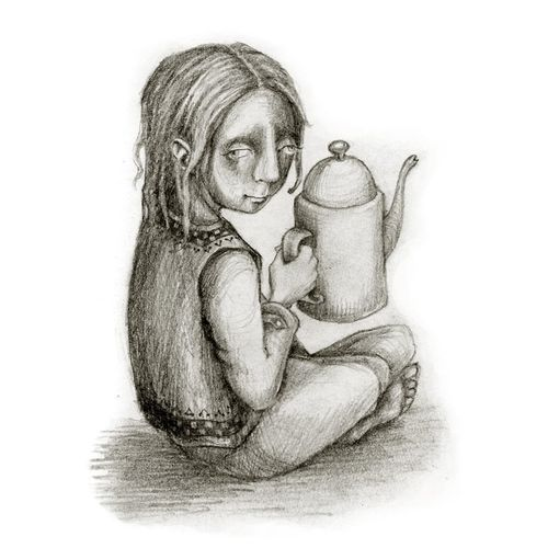 The Coffee Pot by Rima Staines