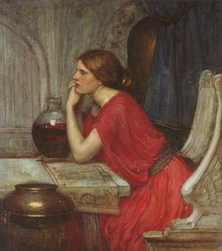 The Sorceress by JW Waterhouse