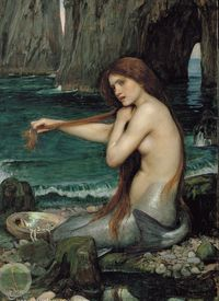 The Mermaid by JW Waterhouse