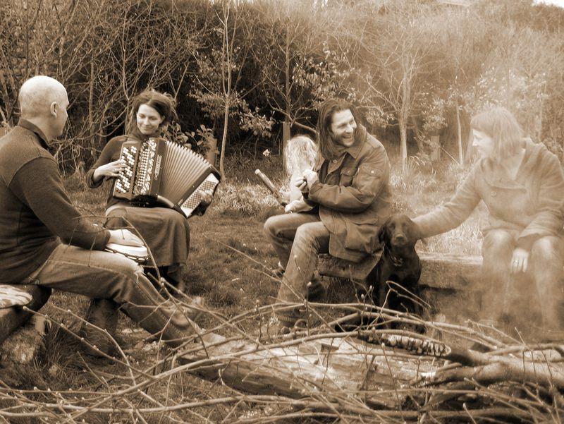 Music, fire, friends & tilly