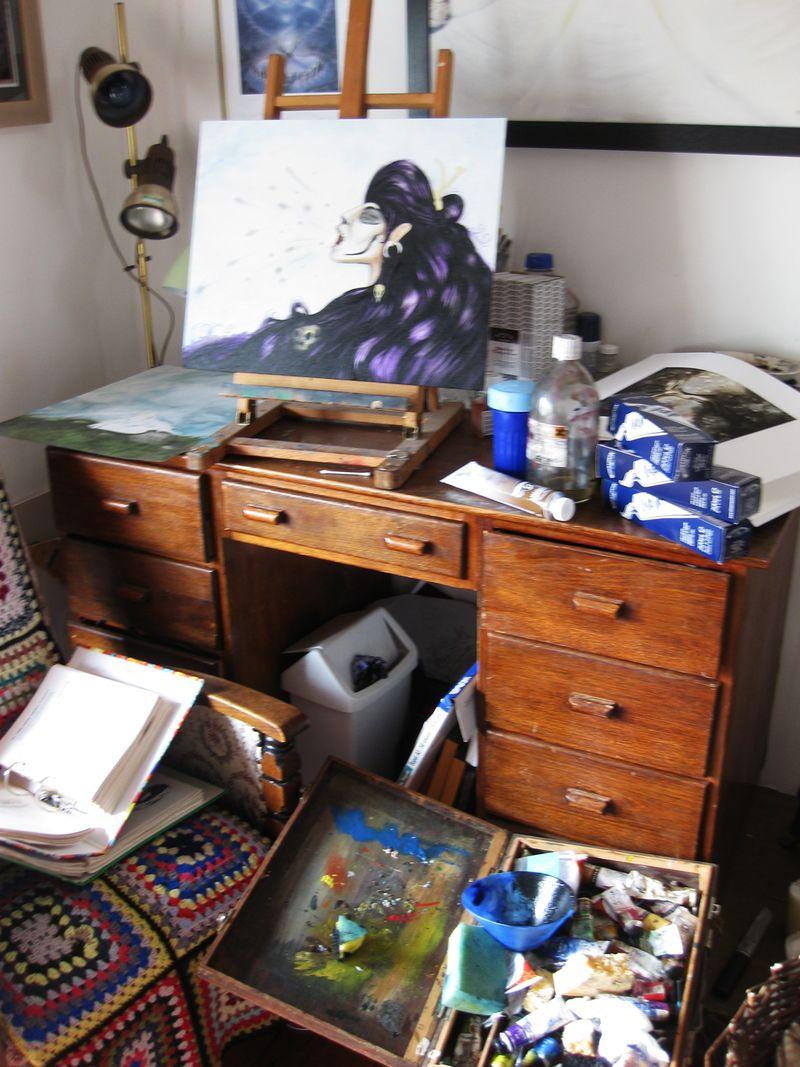 Susie's desk 2