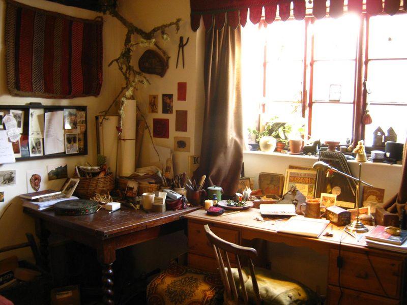 Rima's desk 1