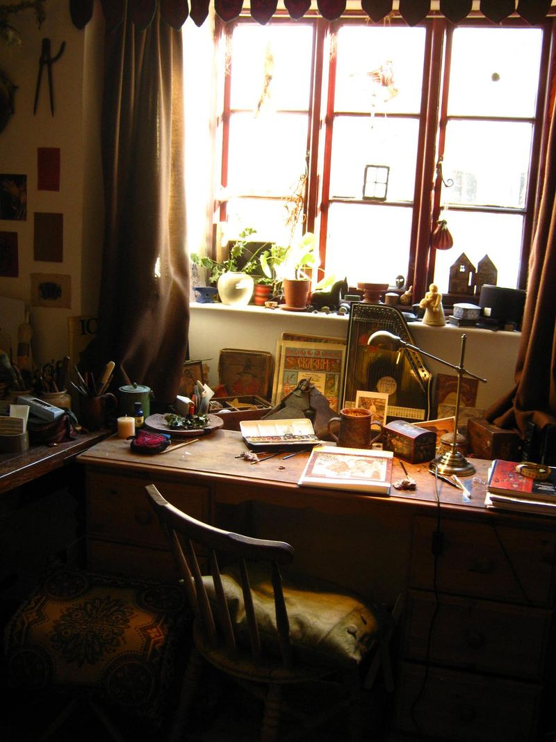 Rima's desk 2