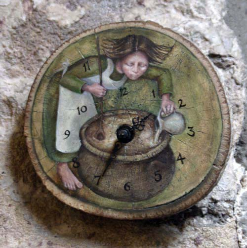 Clock by Rima Staines