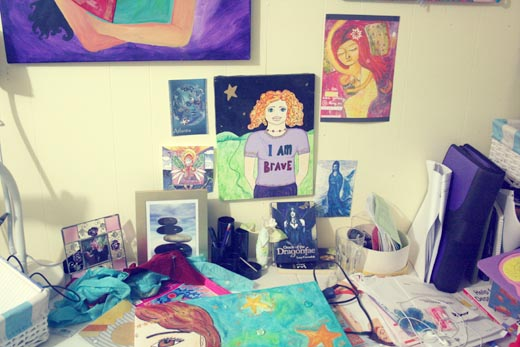 Goddess Leonie's studio 1