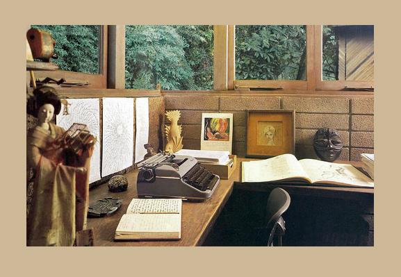 Anais nin's desk