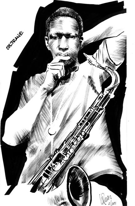 Coltrane by Leland Purvis