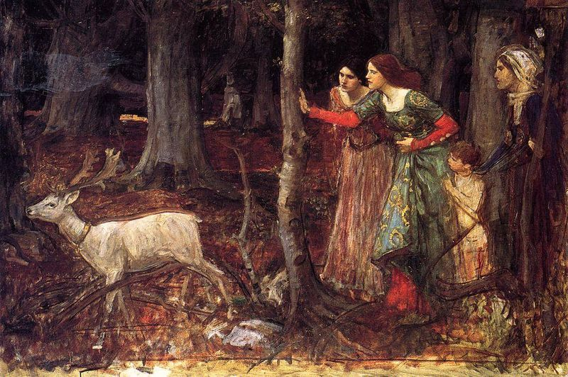The Mystic Wood by JW Waterhouse