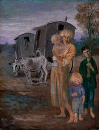 English Gypsies by Augustus John