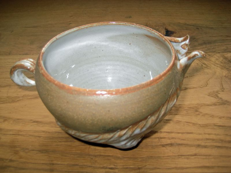 Swan Pot by Claire Briant