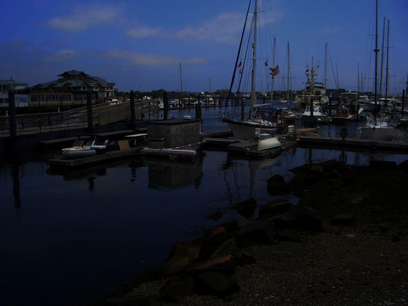 Boston Harbor, North End