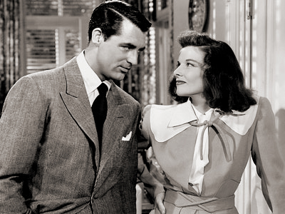 Cary grant & Katherine Hepburn