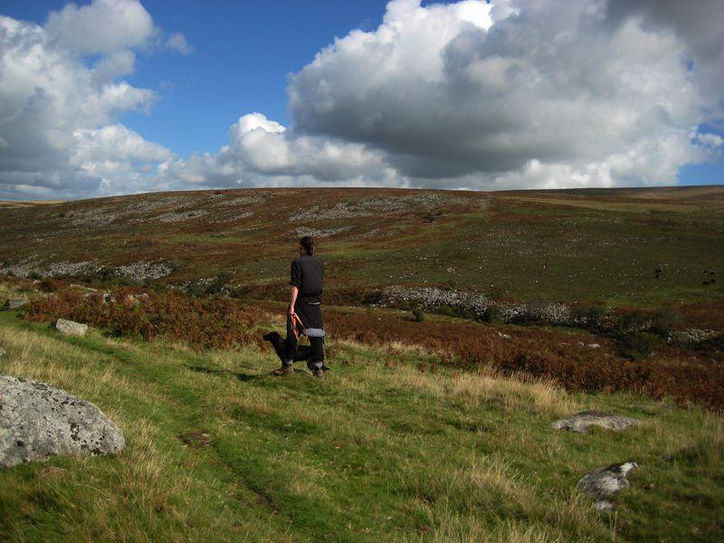 Howard and Tilly on Dartmoor