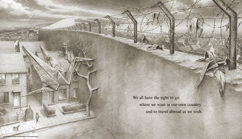 We Are All Born Free illustration by Alan Lee