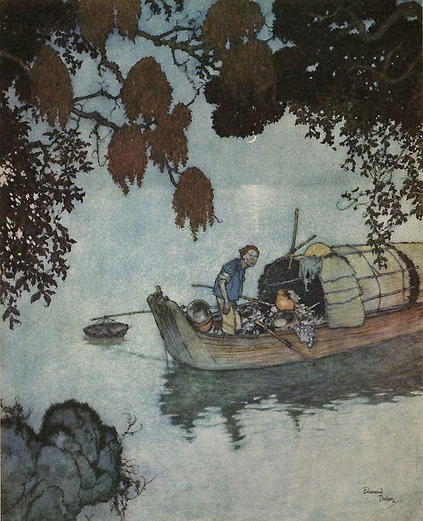 The Fisherman by Edmund Dulac