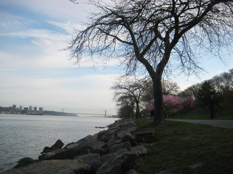 Water's edge, Riverside Park