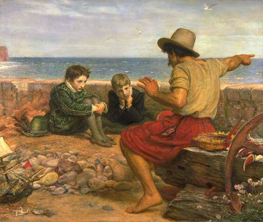 The Boyhood of Raleigh by Millais