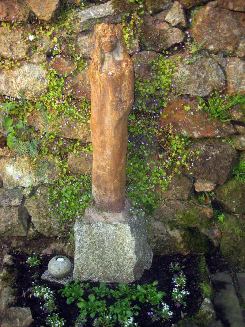 Garden statue by Wendy Froud