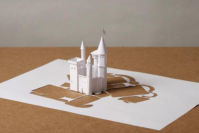 Impenetrable Castle by Peter Callesen