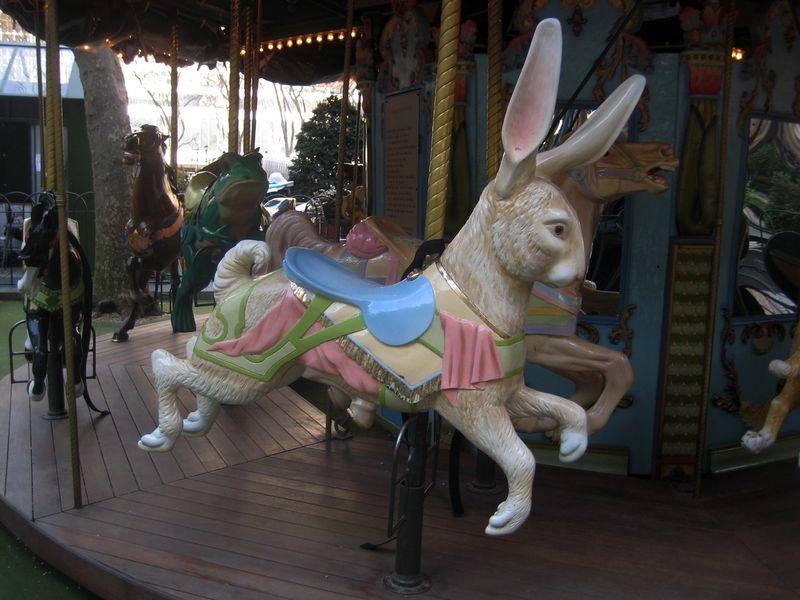 Bryant Park Carousel 2
