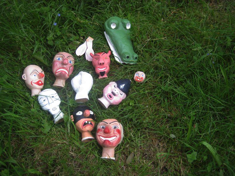 Howard Gayton's puppets