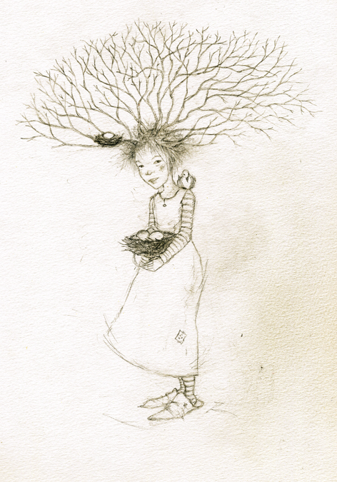 Tree Child copyright by T Windling