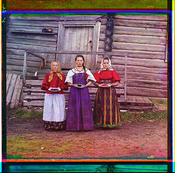 Russian Peasant Girls