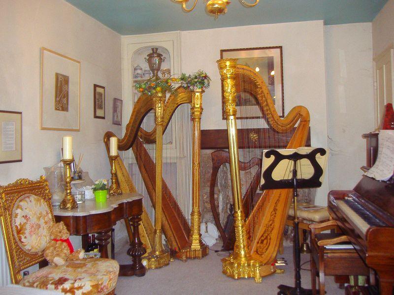 EJ's music room