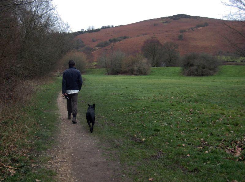Howard & Tilly in Devon, 2012