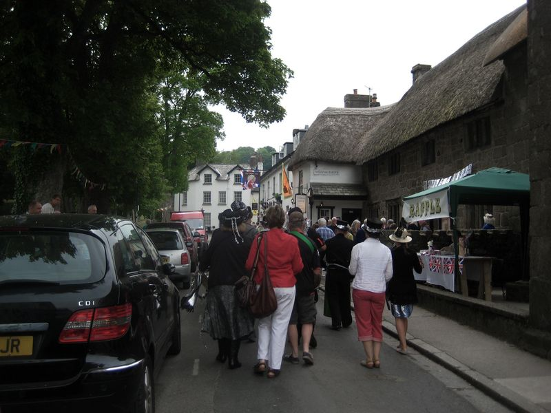 Procession along the High Street