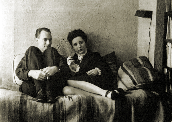 Anais Nin and Hugo Gulier