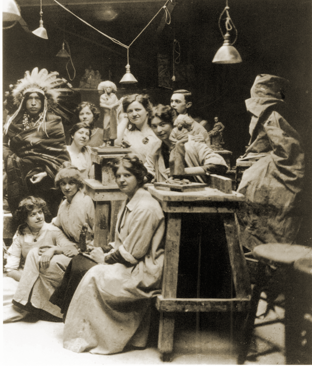 The School of Art Institute in Chicago, 1890