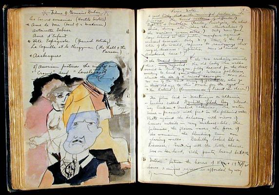 Henry Miller Paris notebook