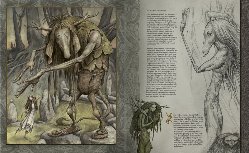 From Trolls, a new book forthcoming from Brian & Wendy Froud