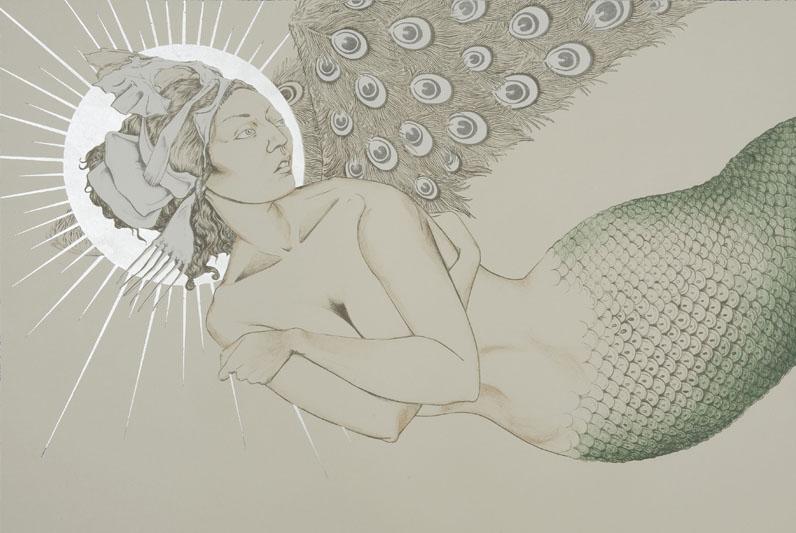 Mermaid in Flight by Fay Ku